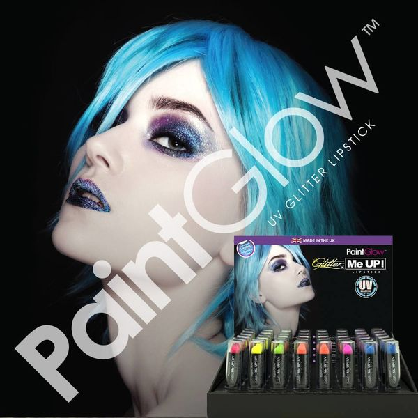PAINTGLOW UV GLITTER ME UP LIPSTICK