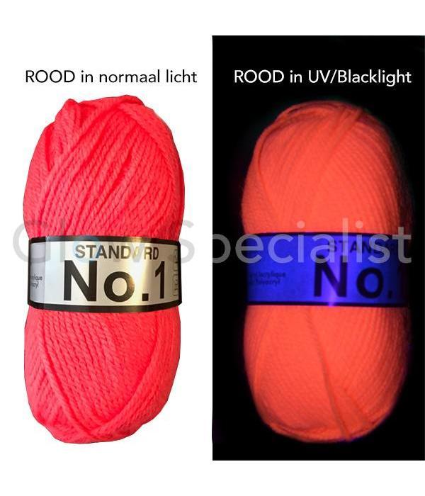 Blacklight - Neon / Glow Wool