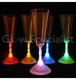 LED Champagne glass