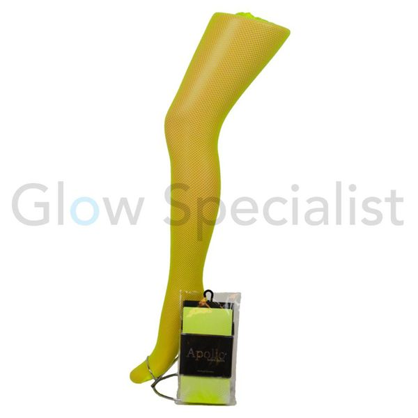 UV / BLACKLIGHT NEON NET TIGHTS - 2 SIZES