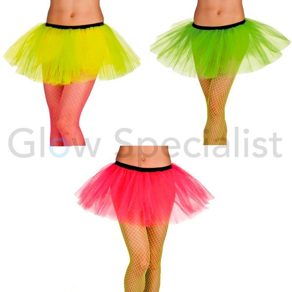 UV / BLACKLIGHT NEON TUTU