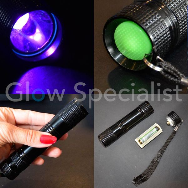 UV TORCH 3 WATT - 365 NM - AAA MODEL - Glow Specialist