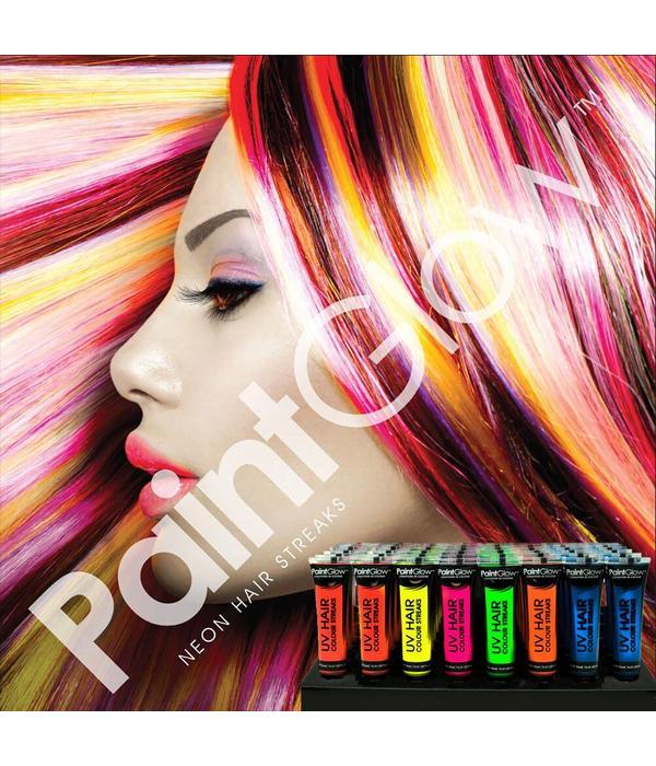 - PaintGlow PAINTGLOW UV HAIR COLOR STREAKS