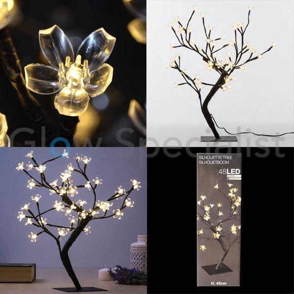 LED BLOSSOM TREE - 45 CM - WARM WHITE - 48 LED