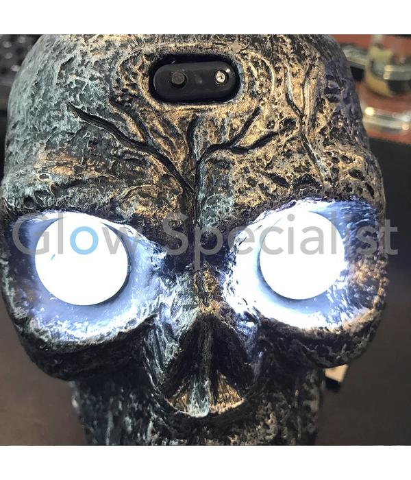 HALLOWEEN SKULL WITH LIGHT AND SOUND