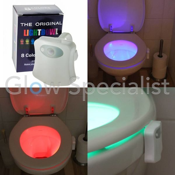 THE ORIGINAL TOILET LIGHTBOWL 8 COLORS