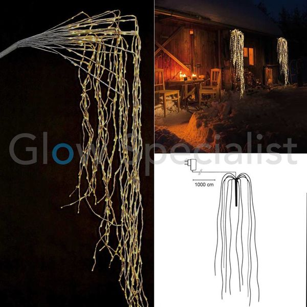 LED WILLOW BRANCHES- WARM WHITE - 648 LEDS - 190 CM