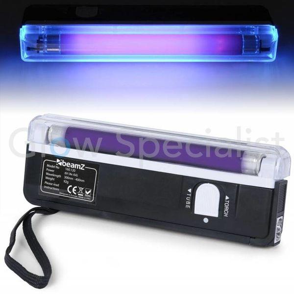 UV ZAKLAMP TL - 15 CM - MET ZAKLAMP