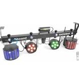 BeamZ Showbar 2x PAR 6x 2xButterfly 4in1 Laser R / G DMX IRC