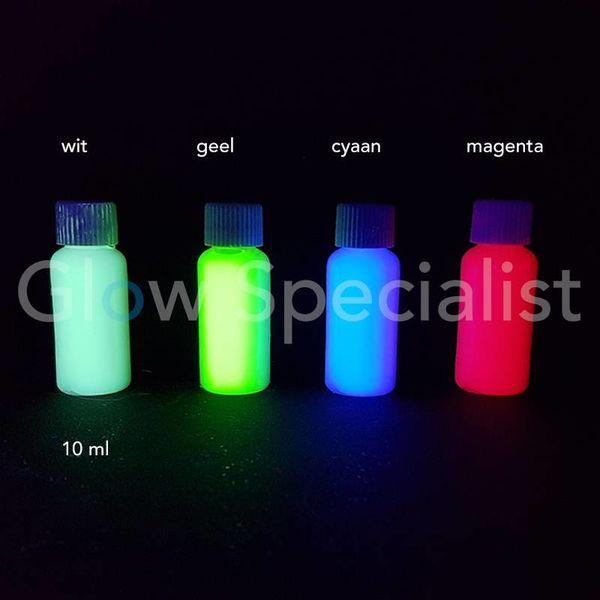 UV PRINTER INKT - SET VAN 4 KLEUREN - ONZICHTBAAR