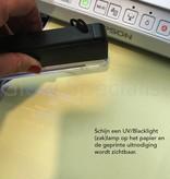 - Glow Specialist UV PRINTER INKT - MAGENTA LIGHT - ONZICHTBAAR