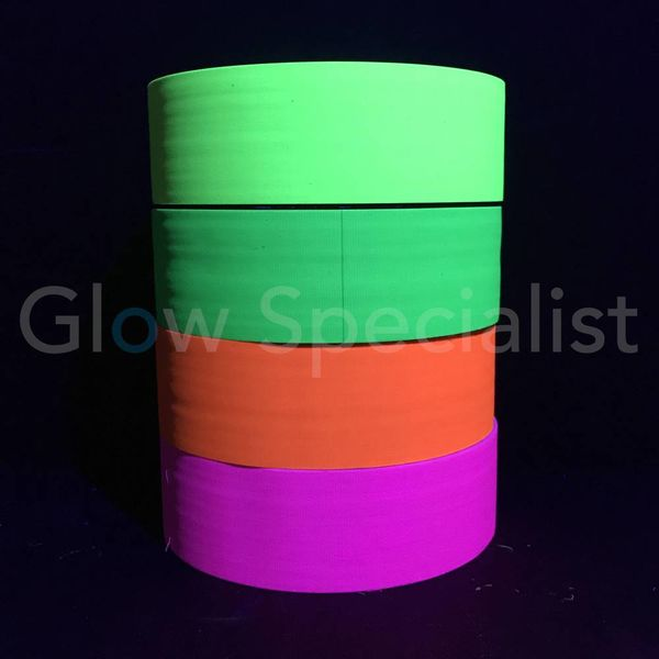UV / Blacklight Neon Tape - 50 mm x 50 m - Copy