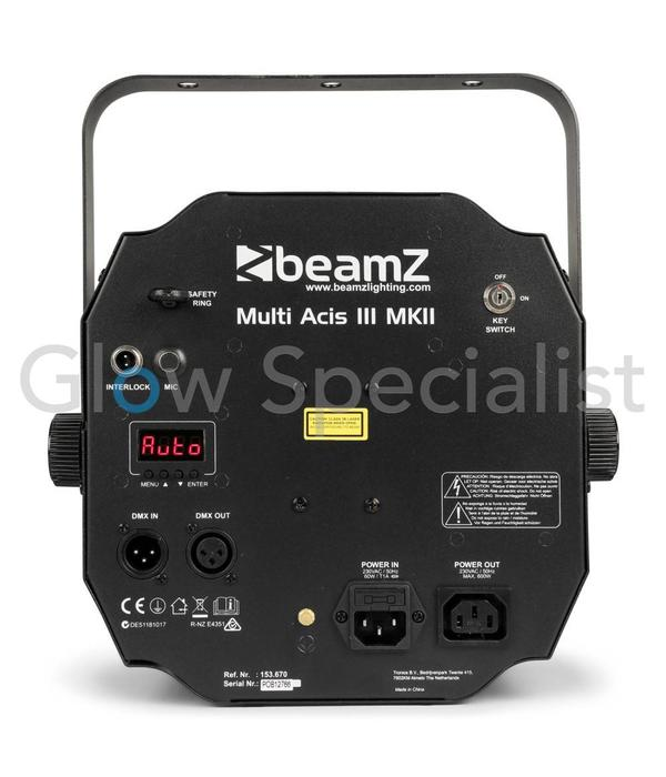 BeamZ MULTI ACIS III LEDS - WITH LASER AND STROBE