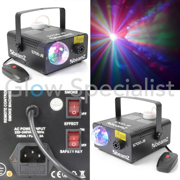 S700-JB ROOKMACHINE + JELLY BALL LED