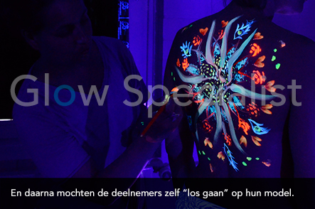 Workshop UV Bodypainten foto 5