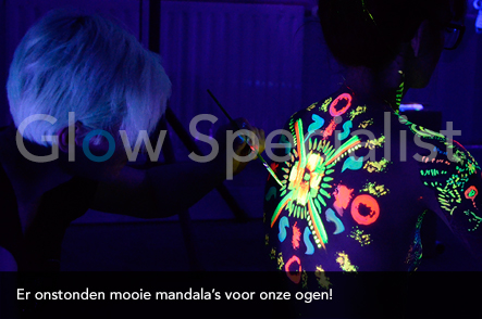 Workshop UV Bodypainten foto 6