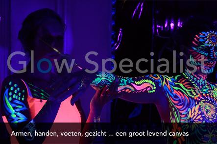 Workshop UV Bodypainten foto 10