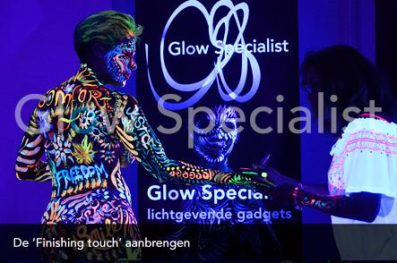 Workshop UV Bodypainten foto 17