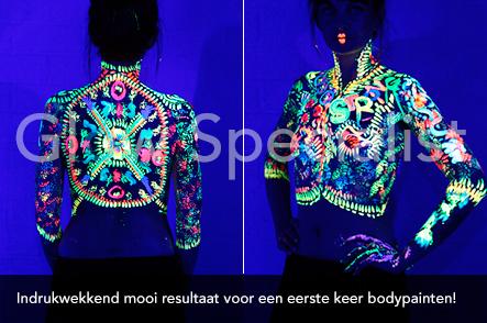 Workshop UV Bodypainten foto 13