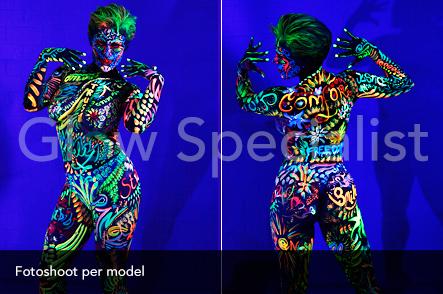 Workshop UV Bodypainten foto 12