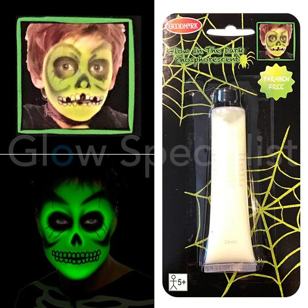 GLOW IN THE DARK MAKE-UP CREME
