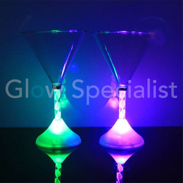 LED MARTINI GLAS - COLORCHANGING