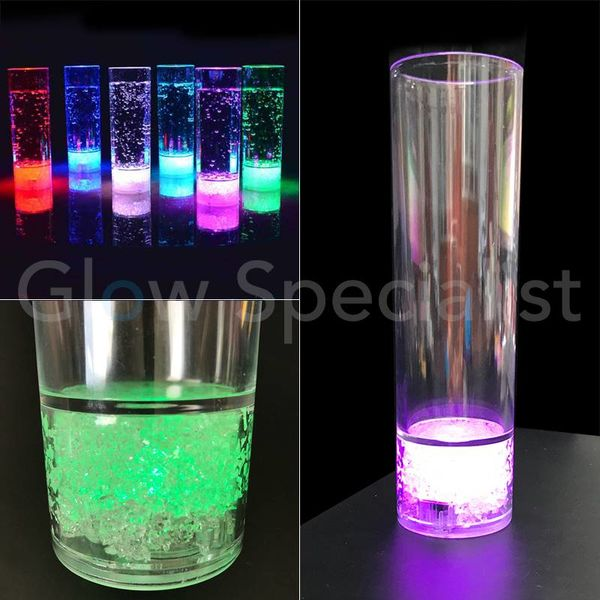 LED ICE LONGDRINK GLAS