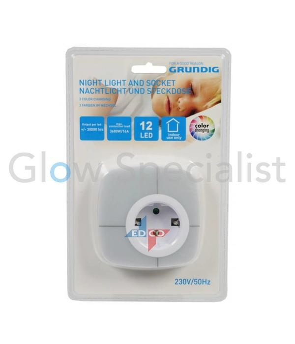 Led Nightlight Color Changing With Screen And Sensor Glow