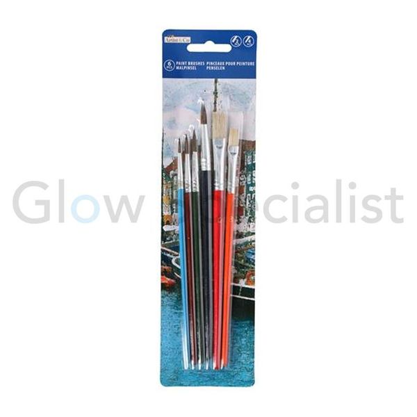 PAINTBRUSH SET - 6-PCS