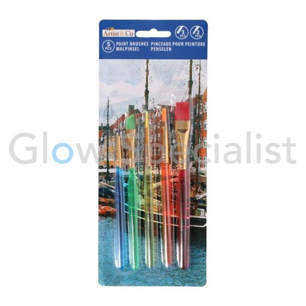 PAINTBRUSH SET - 5-PCS