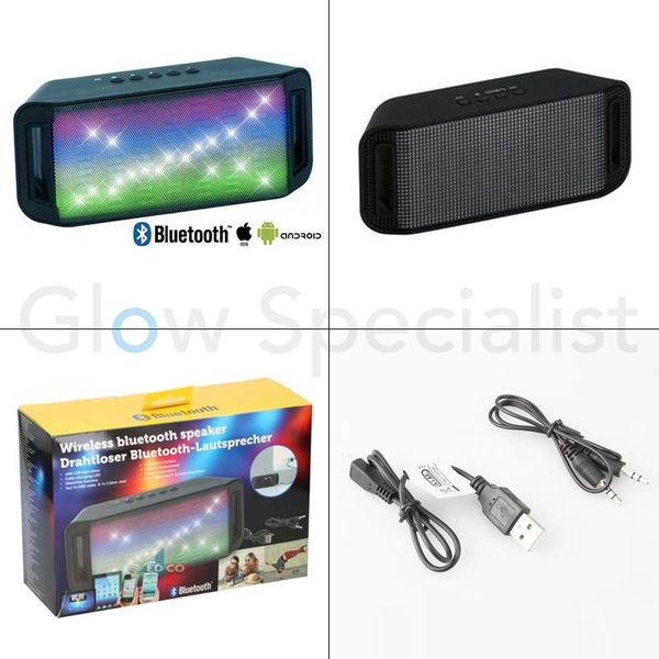 WIRELESS BLUETOOTH SPEAKER - BT 2x3W PL