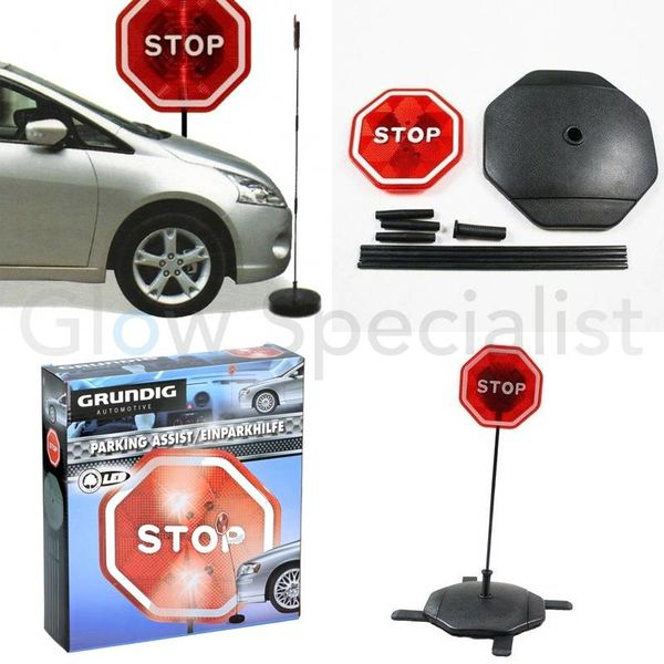LED PARKEERHULP - STOP BORD