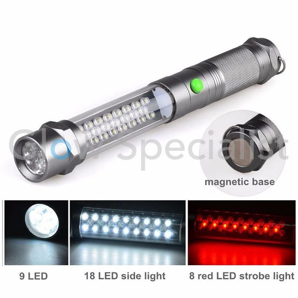 LED 3-IN-1 MAGNETIC WORK LAMP / WARNING TORCH