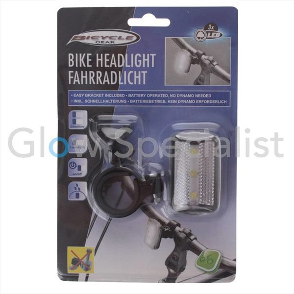 LED BIKE HEADLIGHT - 3 LED
