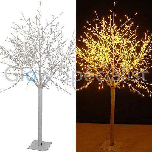 LED ILLUMINATED TREE - WARM WHITE - 600 LED - 180 CM