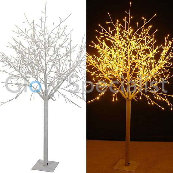 LED ILLUMINATED TREE - WARM WHITE - 600 LED - 180 CM