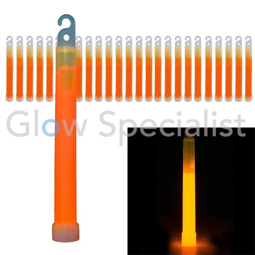 """- Glow Specialist GLOWSTICK ULTRA HIGH INTENSITY - 6 """"(15 CM) - 5 MINUTEN - 25 PCS"""