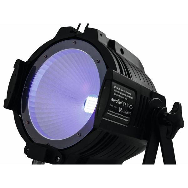 EUROLITE LED ML-56 COB UV 80 WATT FLOOR bk