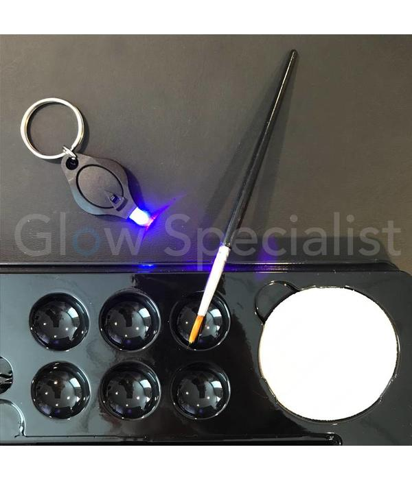 - PaintGlow PAINTGLOW UV GLITTER FACE & BODY GEL KIT - SET OF 6 TUBES