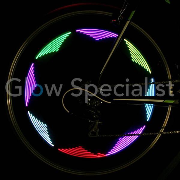 Led Bicycle Spoke Light Rainbow Glow Specialist Glow