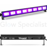 BeamZ UV LED BAR - BUV93 - 8x3W