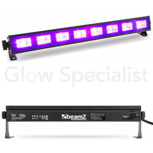 BeamZ UV LED BAR - BUV93 - 8x3W
