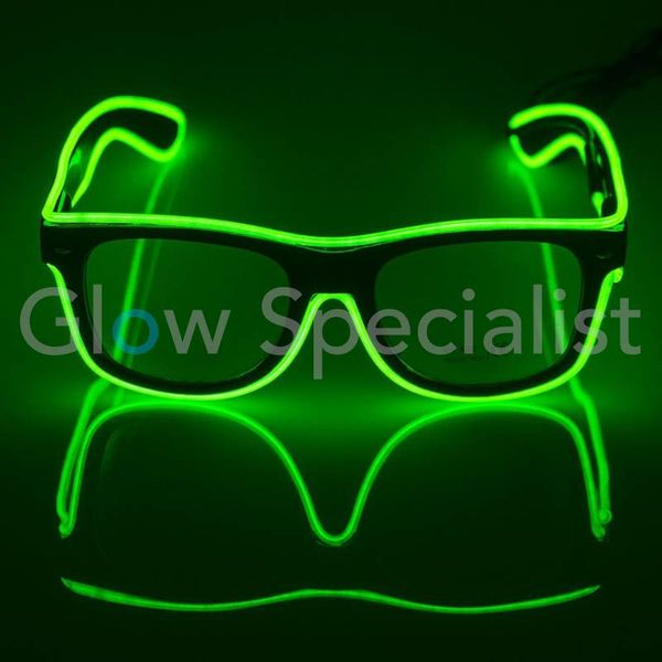 LED EL-WIRE SUNGLASSES