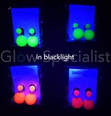UV/BLACKLIGHT NEON EARRINGS
