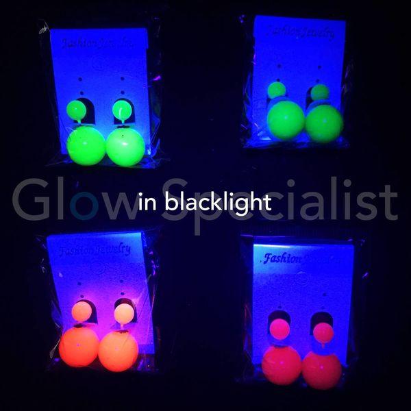 UV/BLACKLIGHT NEON OORBELLEN