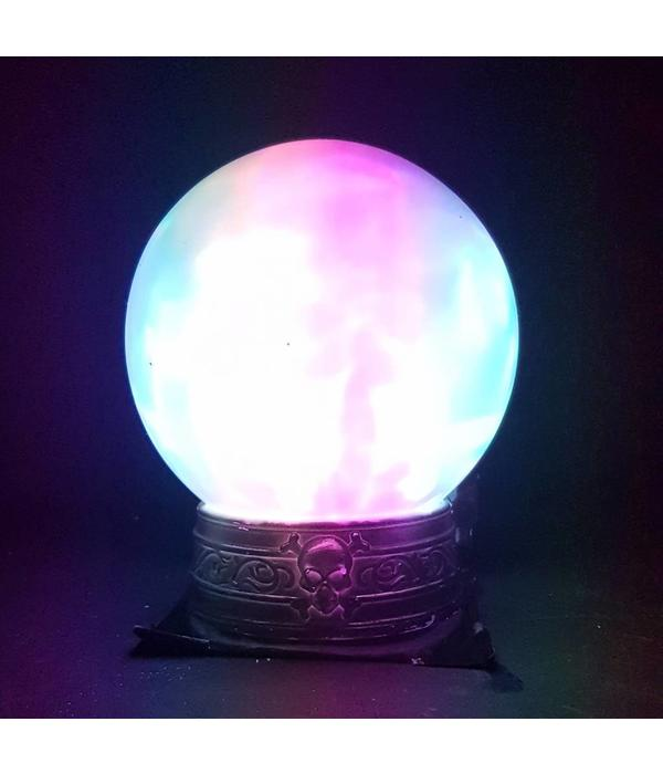 HALLOWEEN FORTUNE TELLER BALL WITH LIGHT AND SOUND