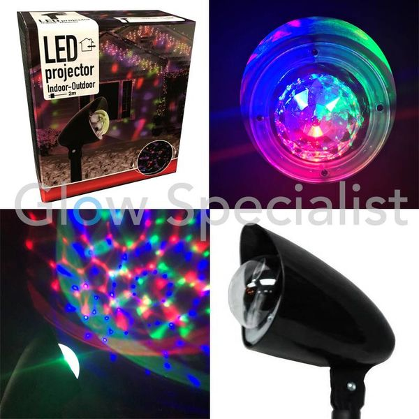 LED PROJECTOR - CALEIDOSCOPE - ROTATING