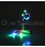 FLESSENSTOP MET 8 LED MULTICOLOR