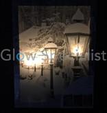 CANVAS SCHILDERIJ MET LED 40 X 30CM - 5 LED
