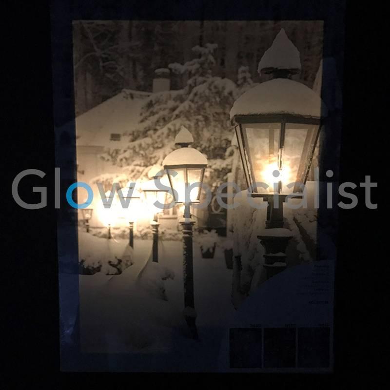 CANVAS SCHILDERIJ MET LED 40 X 30CM - 5 LED - koop je bij Glow ...